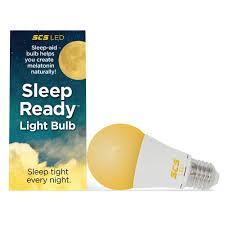 Led Blue Light Bulb by Scs Lighting Sleep Ready Light Sleep Better Naturally 7 Watt