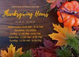 hours of operation fitness center hofstra new york