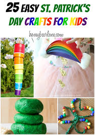 25 easy st patrick u0027s day crafts for kids honeybear lane