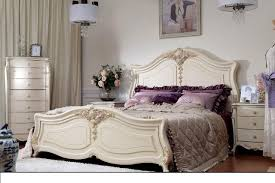 Classical Bedroom Furniture Luxury Bed With Noble Quality And Exquisite Carving Process