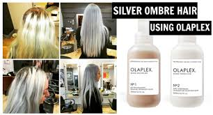 where can you buy olaplex hair treatment how to bleach hair silver grey ombre tutorial using olaplex no