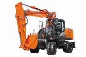 wheeled excavators hitachi construction machinery