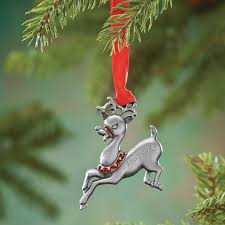 personalized birthstone ornaments personalized birthstone reindeer ornament kimball