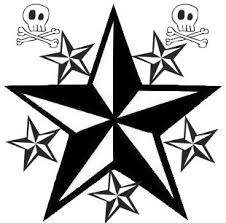 poplesapina nautical star tattoo flash clip art library