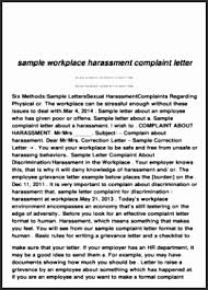 Formal Complaint Letter Against An Employee 17 sle formal complaint letter against supervisor besttemplates