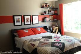 teen boy bedroom reveal wood beds tween and teen boys