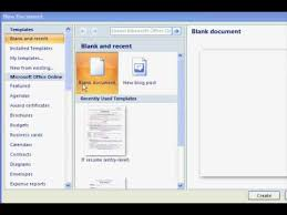 Resume Template Word 2007 How To Get Resume Templates On Microsoft Word Microsoft Resume