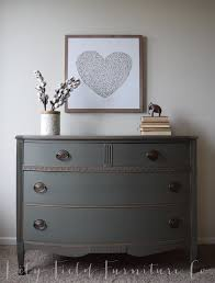 sherwin williams cast iron dresser color matched by country chic