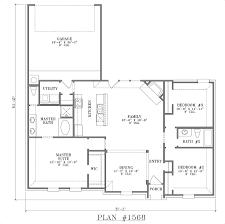 House Plans Single Floor by Next Generation Living Homes Single Level Floor Plan Single Family