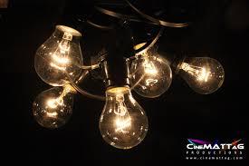 Festoon Lighting Outdoor Festoon Lighting With 25w Clear Gls Lamps Event Lighting