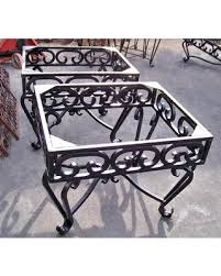Summer S Hottest Sales On Wrought Iron End Tables Heavy Wrought