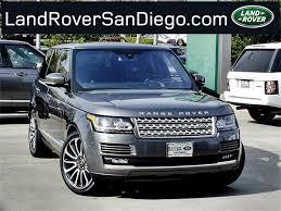 range rover 2016 2016 land rover range rover san diego ca