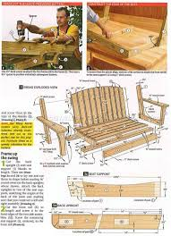 arbor swing plans 2519 arbor swing plans outdoor furniture plans benches