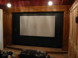 Steve Mcconnells Home Theater New Home Theater Stage Design - Home theater stage design