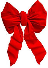 pre made indoor or outdoor velvet big bows 7368