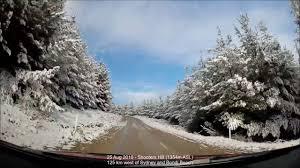 snow driving australia winter 2016
