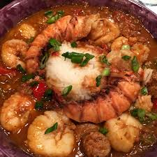 cajun cuisine shellfish and sausage gumbo honeypie s recipes