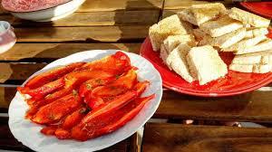 cuisiner les poivrons rouges poivrons rouges marinés comme en italie recette par mamie paulette