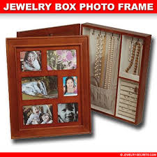 jewelry box photo frame 40 clever gifts for jewelry jewelry secrets