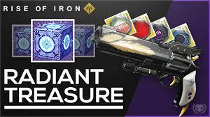 destiny rise of iron opening radiant treasure ornaments