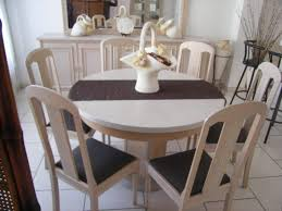 D Coratif Table A Manger D Coratif Table Ronde Salle A Manger Extensible Chaise Eliptyk