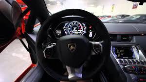 2012 Lamborghini Aventador Startup 1st Person Interior View