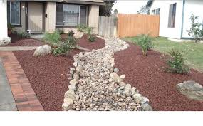 Front Yard Landscaping Without Grass - beautiful front yard stone landscaping ideas front yard