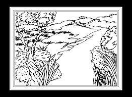 free coloring pages landscapes coloring home
