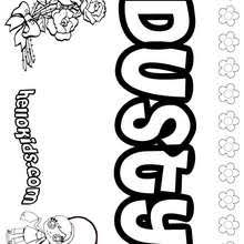 dusty coloring pages hellokids