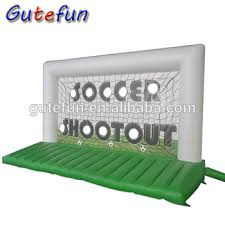 Inflatable Beds Target Deluxe Inflatable Football Soccer Goal With Inflatable Bed
