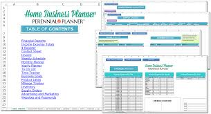 Contact Spreadsheet Template Home Business Planner Savvy Spreadsheets
