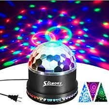 disco lights solmore 12w sound actived rgb led