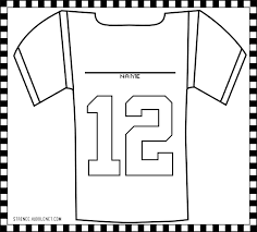 27 Images Of Alabama Football Jersey Template Printable Infovia Net Alabama Crimson Tide Coloring Pages