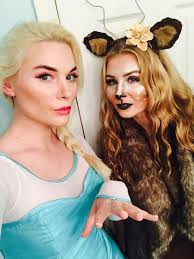 Halloween Costume Elsa Frozen Sister Elsa Sven Halloween Frozen Costume Elsa