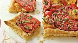 herbed tomato tart southern living youtube
