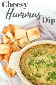 Hummus Kitchen Cheesy Spinach Hummus Dip
