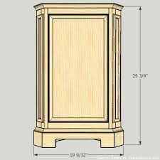 how to build a building remodelaholic how to build a catalog inspired corner cabinet