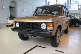 gold range rover 1983 range rover classic classic throttle shop
