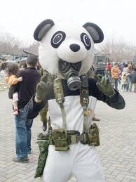 gas mask costume panda costumewith gas mask my disguises we costumes