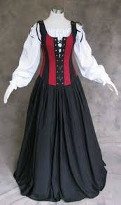 red and black renaissance faire wench bodice artemisia