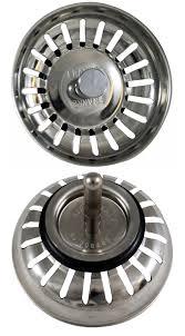 Kitchen Sink Strainer Basket Replacement Mcalpine Stainless Steel Strainer Plumbers Mate Ltd Carron