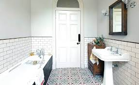 what size tiles for bathroom floor contemporary bathroom by niche