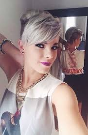 women hairstyles 2015 shorter or sides and longer in back long pixie hairstyles shaved side cuts hair pinterest long
