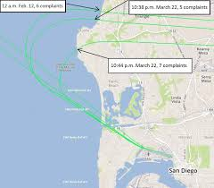 Mesa Zip Code Map by La Jollans Airplane Noise Isn U0027t Going Anywhere La Jolla Light