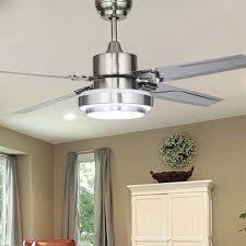 48 Inch Ceiling Fan With Light Aliexpress Buy 48 Inch Stainless Steel Ceiling Fan Led L