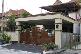 car porch tiles design car porch extend living hall floor auto gate home plans