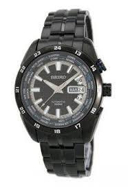 Jam Tangan Alba Pria pria jam tangan analog seiko 5 sports jam tangan pria hitam