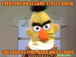 Sesame Street Memes - sesame street angry bert meme generator imgflip