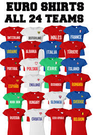 ladies t shirt retro country name euro 2016 football all 24