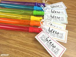 gift for of the end of year gift tags sparkling in second grade